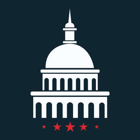 Icon of the White House in Washington.