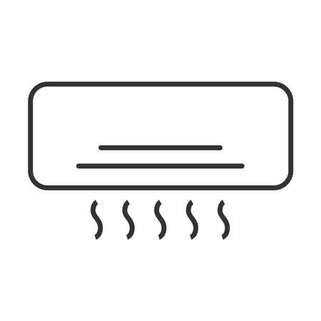 Air conditioner icon on a white background.