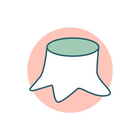 Hemp icon on a white background. Ilustracja
