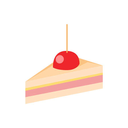 Picture of a cake on a white background