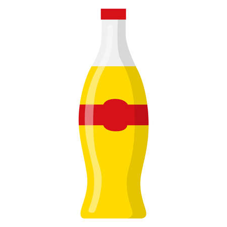 Picture of soda on a white background. An interesting picture.