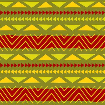 Ethnic pattern. Tribal art. African pattern.