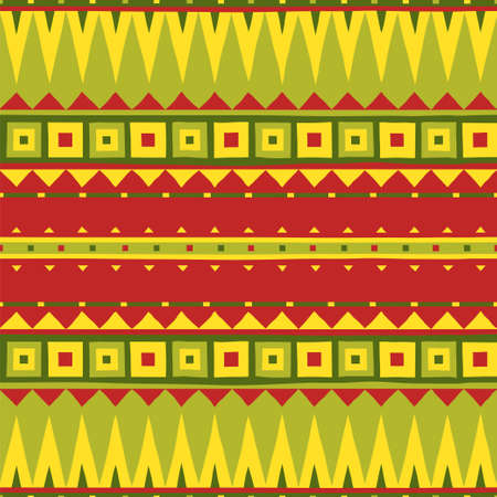 Ethnic pattern. Tribal art. African seamless pattern.