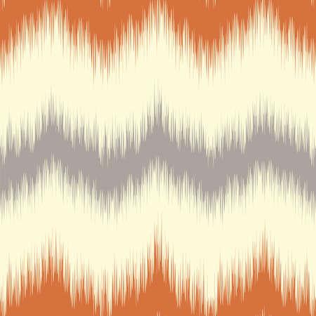 Ikat pattern. Ethnic textile. Ikat. Illustration
