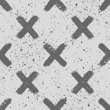 Abstract background. Geometric pattern. Grunge texture. Vector wallpaper.