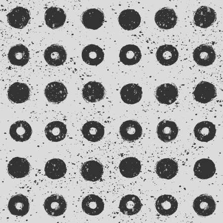 Abstract background. Geometric pattern. Grunge texture. Vector wallpaper. Ilustração