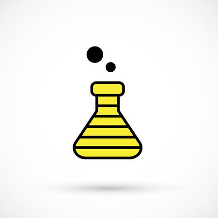 Becher a strisce creativo nel design giallo e nero.