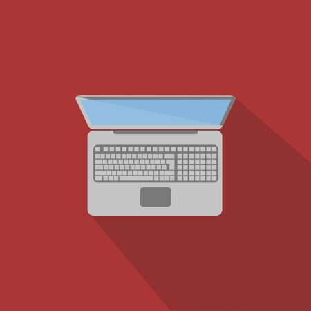 notebook computer: Illustration of notebook, computer, laptop