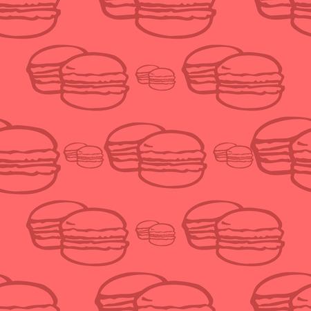 macaroon: macaroon pattern seamless