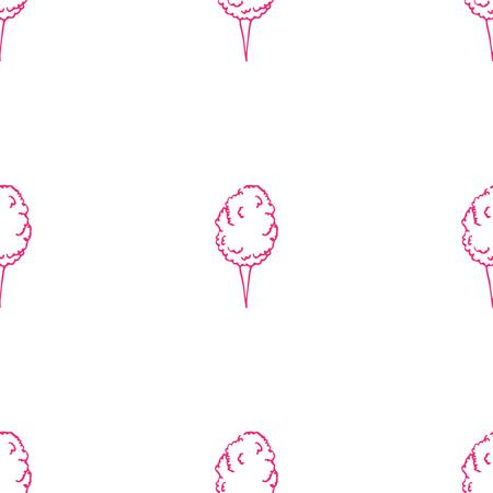 algodon de azucar: Modelo incons�til de algod�n de az�car Vectores