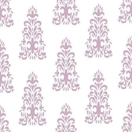 cartouche: Vector ornate classic floral ornament background Illustration