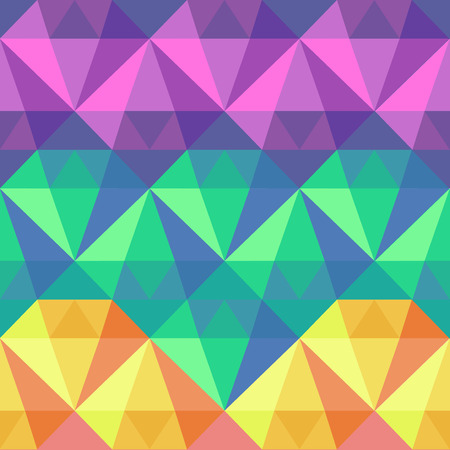 futuristic background: Polygonal seamless pattern, trendy polygonal futuristic background Illustration