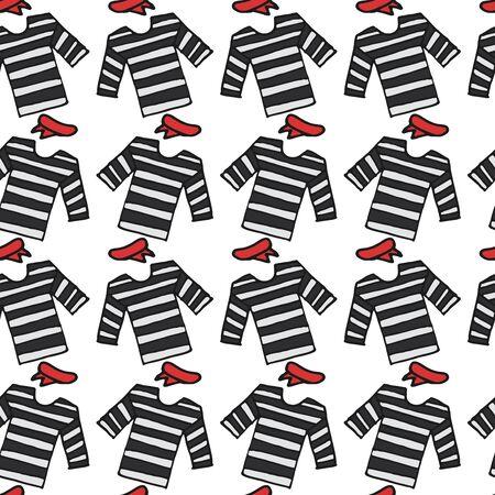 stripped: stripped t-shirt seamless pattern, Stock Photo