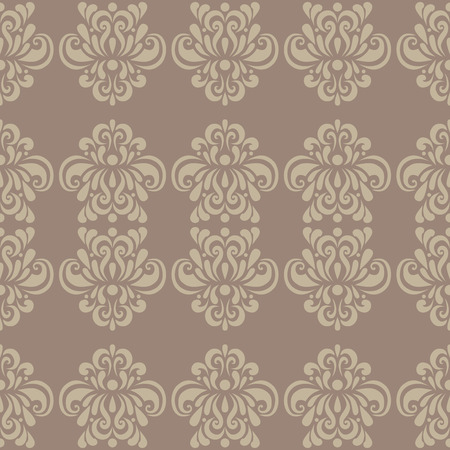 traditional pattern: vintage rnate classic floral color ornament background