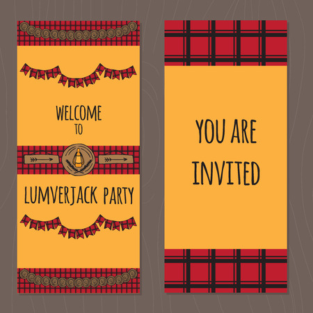 blockhouse: Rustic Woodsy Outdoor Lumberjack party ideas tickets, camping party ideas