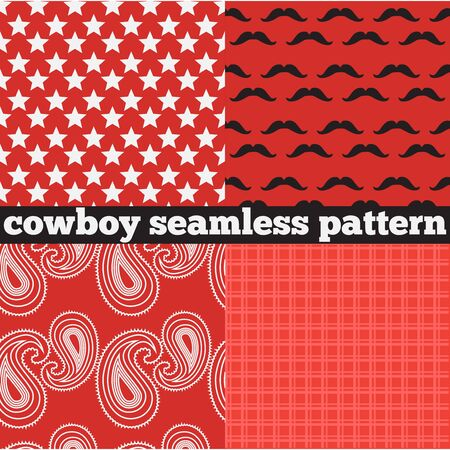 gunman: Printable set of vintage cowboy party elements. Templates, labels, icons and wraps