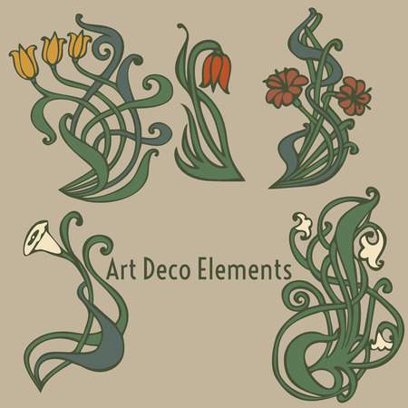 etiquetas de estilo vintage sobre diferentes temas para la decoración y el diseño
