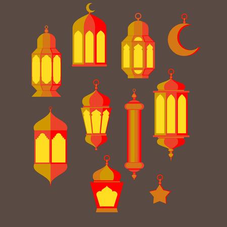 Ramadan Kareem - Noches islámicas Santos, diseño del tema de fondo, Ramadan latern, festival de santo, juego de la cultura árabe y la religión turco