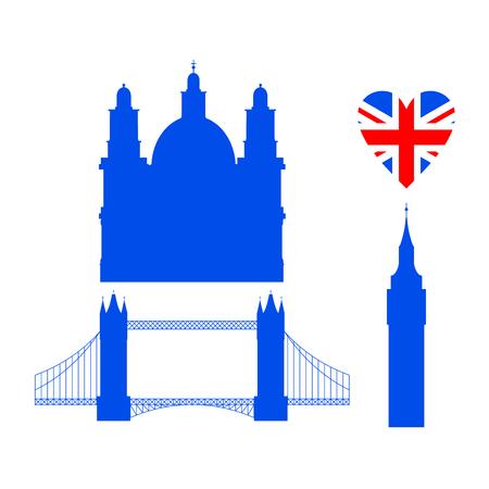 Flat building of United Kingdom, London travel icon landmark. City architecture England. World Europe Great Britain travel vacation sightseeing.