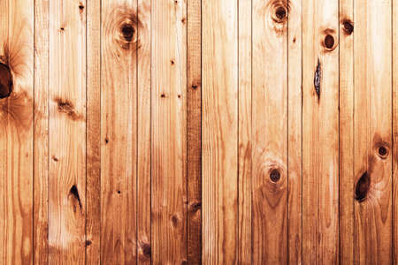 Old natural wooden grunge background or texture of vertical planks Stock fotó