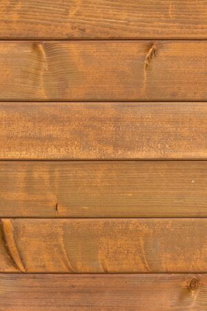 Textured brown wood plank background knocked together