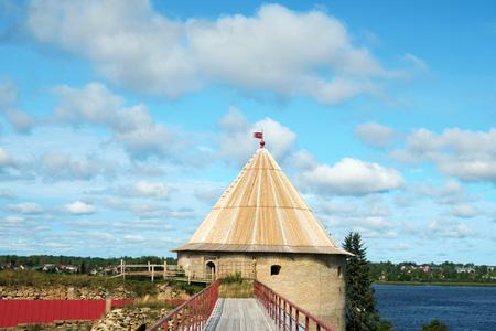 wooden bridge of ancient Fortresses