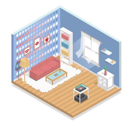 living room furniture: interior, isometric, living room, room, fashion, furniture
