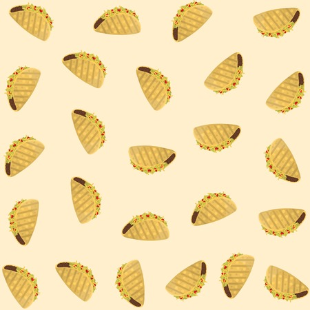 isometric, fast food, food, tacos, background, abstraction