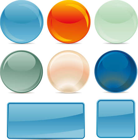 backgrounds for icons Stock Vector - 10952146