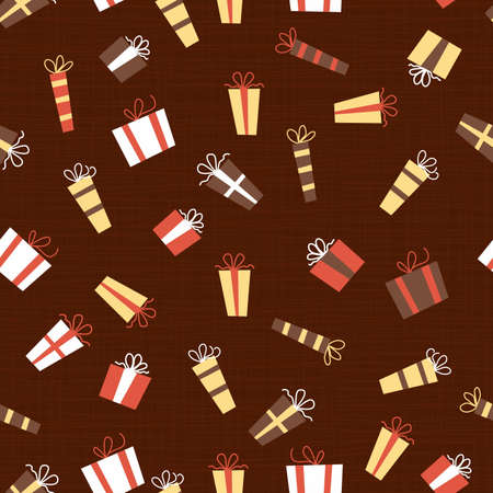 presents seamless pattern Stock Vector - 11072280