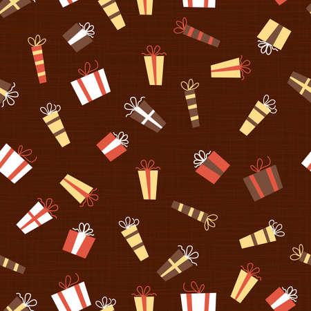 presents seamless pattern Stock Vector - 11072280