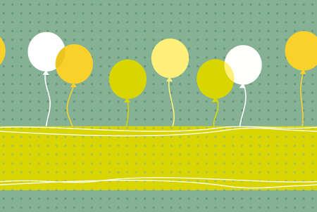 birthday banner Vector