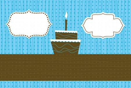 birthday banner Stock Vector - 11072271