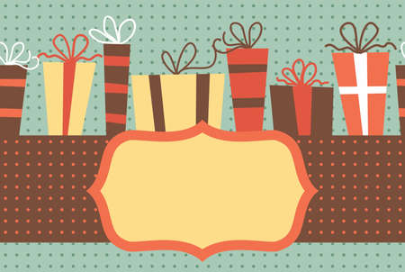 gift banners Vector
