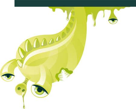 green mosnter Stock Vector - 11072308