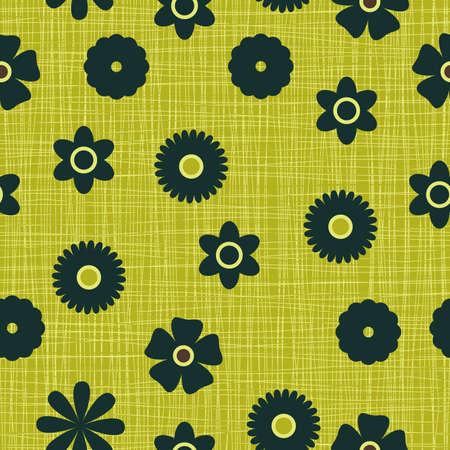 heterogeneous: seamless flowers