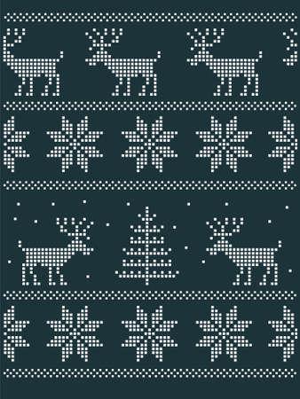 seamless nordic pattern
