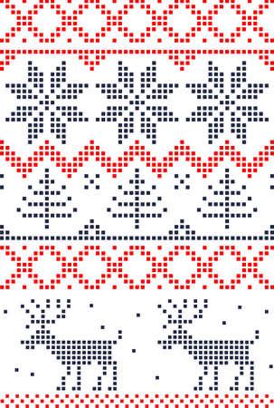 slavic: scandinavian seamless pattern