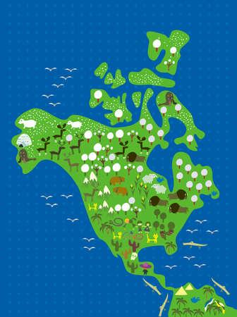 earth moving: la fauna de Am�rica del Norte