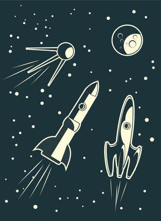 rocket ship: spaceships racing
