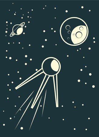 sputnik: sputnik in cosmos