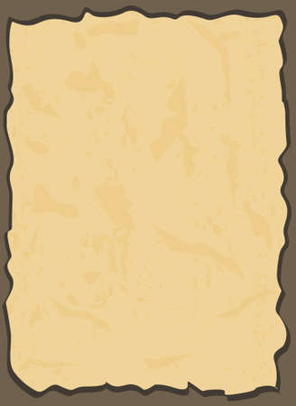 paper background: aged paper in vector