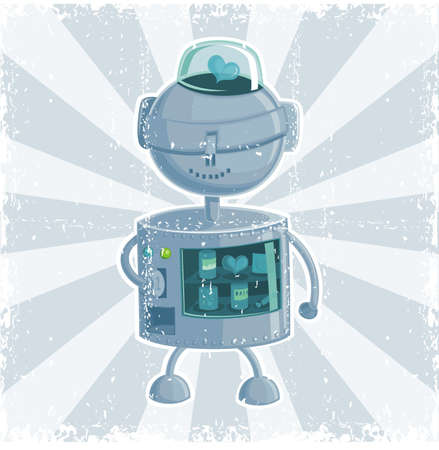 looming: retro robot automate