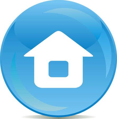 icono inicio: Web icono de los botones