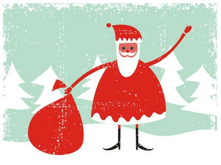 klaus: grunge santa with presents