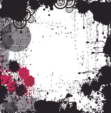 blutspritzer: Grungy Hintergrund Illustration