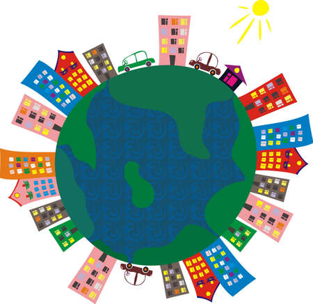 amor al planeta: globo