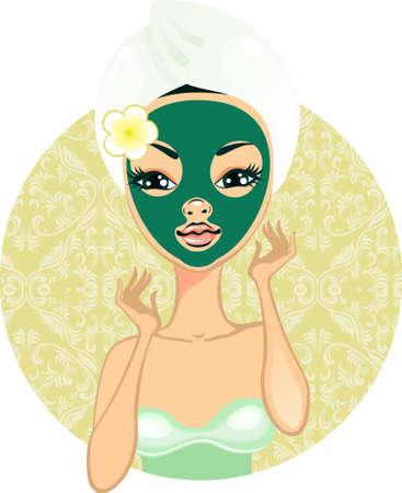 make love: Pretty girl with make up