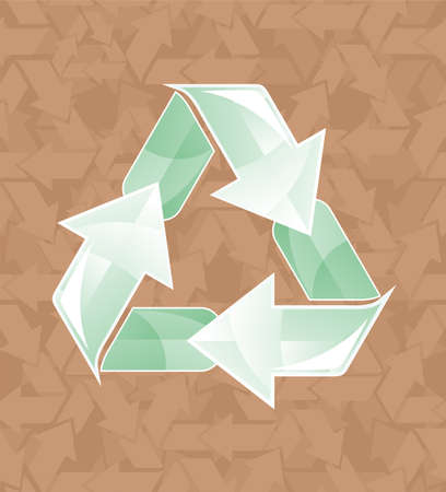 Recycle sign  Vector