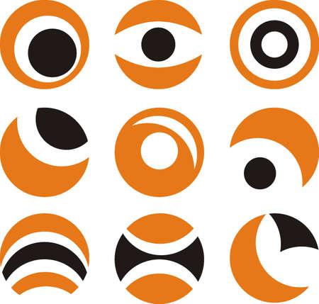 circle icons Stock Vector - 12061852